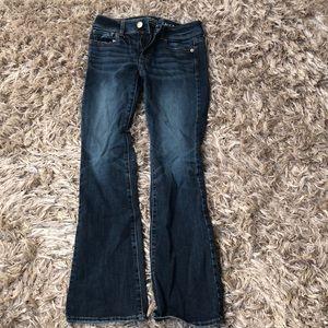 Pants - Dark wash American eagle boot cut jeans